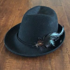 Zara Hat with Feather